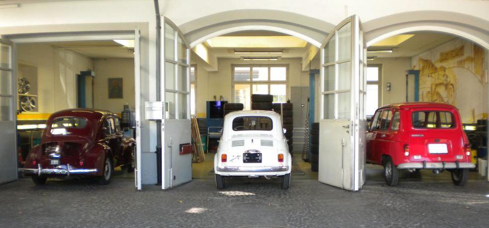 Garage Ofner Oldtimer Spezialist in Zürich Wollishofen